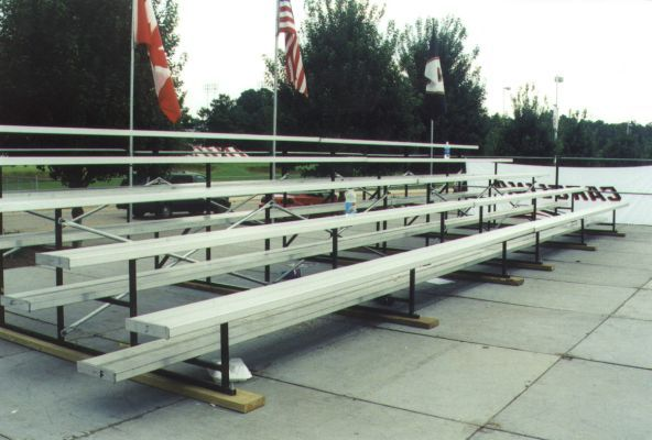 portable bleacher rental raleigh nc